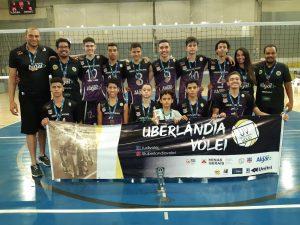 Equipes do Uberlândia Vôlei conquistam vaga para a fase final do campeonato