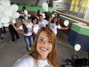 Curso de Psicologia participa do lançamento da campanha Janeiro Branco 1
