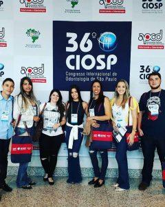 Alunos e professores do curso de Odontologia participam do 36° CIOSP 1