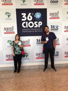 Alunos e professores do curso de Odontologia participam do 36° CIOSP 2