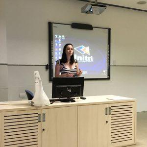 Estudantes participam de palestra sobre os novos rumos da comunicação e o profissional multimídia 1