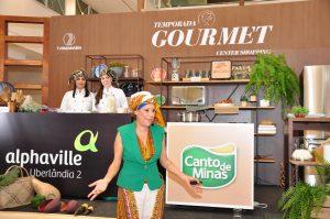Egressos do curso de Nutrição ministram palestras na Temporada Gourmet Center Shopping 4
