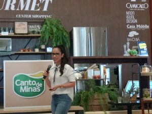 Egressos do curso de Nutrição ministram palestras na Temporada Gourmet Center Shopping 5