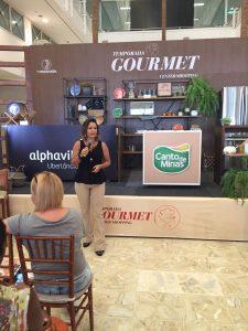 Egressos do curso de Nutrição ministram palestras na Temporada Gourmet Center Shopping 6