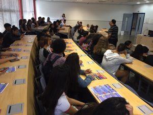 Unitri recebe alunos da E.E.do Parque São Jorge pelo projeto Jovem Gestor 1
