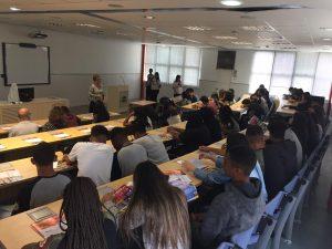 Unitri recebe alunos da E.E.do Parque São Jorge pelo projeto Jovem Gestor 2