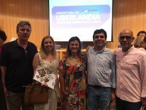 Professores do curso de Arquitetura e Urbanismo recebem certificado na Prefeitura de Uberlândia 1