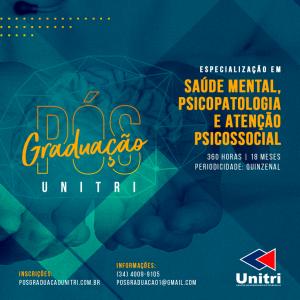 Unitri oferece dois novos cursos de Pós-graduação para o primeiro semestre de 2019 1