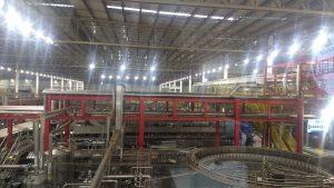 Acadêmicos realizam visita técnica na fábrica da AMBEV 1