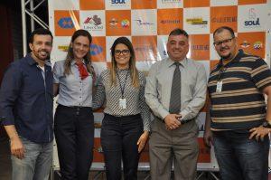 Alunos do curso de Administração realizaram feira de negócios no campus Unitri. 3