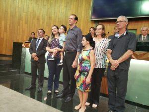 Gestor de Medicina Veterinária recebe homenagem na Câmara Municipal 2